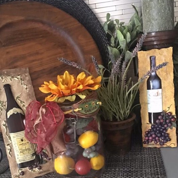 Handmade Other - ❌SOLD❌     🦋❤️Handmade Tuscan apothecary jar